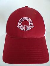 Olympic Club White Red 100% Cotton Size L/XL Hat Cap American Needle