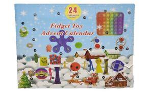 Advent Calendar Fidget Toy  Xmas Christmas 2021 Gift Kids Children Autism