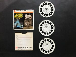 VIEW MASTER KING KONG 3 REELS, NO BOOK
