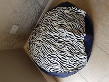 Faux Leather / Animal Print Bean Bag Cover, Dog Bed. 4 Designs to choose from..