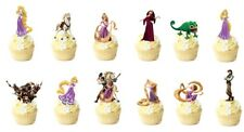 14 Tangled Rapunzel  STAND UP Edible Cupcake Topper Edible Decorations Wafer