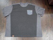 McDonalds employee uniform work shirt black gray size 5XL front pocket new