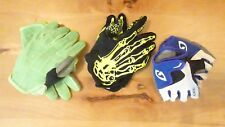 GIRO junior/ youth cycle gloves bundle size S, M and L