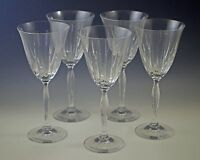 MIKASA CRYSTAL INNOVATION SET OF 5 WATER OR WINE GOBLETS