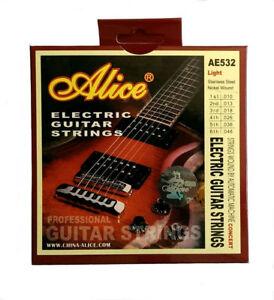Brand New Alice AE532 (Light) Electric Guitar String Set