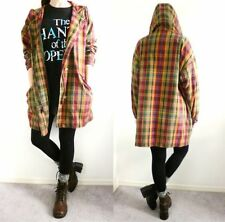 VTG 80s 90s Eddie Bauer Seattle Grunge Plaid Anorak Oversized Jacket Hood Sz XL