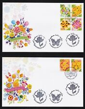 THAILAND-2017-NEW YEAR 2018 -Thai sweets set of 6 stamps -complete 2 f/v - 2 FDC