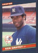 1986 Leaf/Donruss #48 Ken Griffey