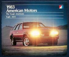 Prospekt brochure 1983 AMC Eagle  SX/4 (USA)