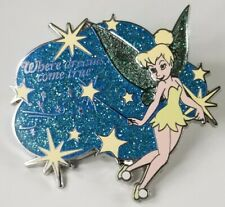 Tinker Bell Where Dreams Come True Pixie Dust Version 3 Glitter Disney Pin 54034