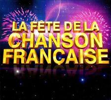 La Fete De La Chanson Francaise  [Box] by Various Artists - 5 cd Set #EV06