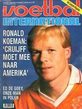 V.I. 1993  nr. 45 - RONALD KOEMAN/ED DE GOEY/TOM VAN MOL/JOHN DE WOLF