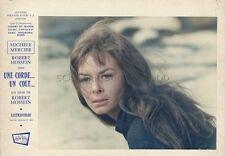 MICHELE MERCIER UNE CORDE UN COLT 1969 PHOTO ANCIENNE D'EXPLOITATION N°2