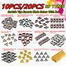 10/20Pcs 39 Types CNC Carbide Tips Inserts Blade Cutter Lathe Turning Tool +