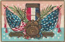 American Patriotic Embossed Postcard Decoration (Memorial) Day Sons of Veterans
