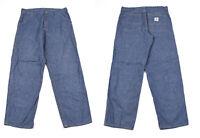 Carhartt Regular Hose Hellblau Herren Jeans W38 L34