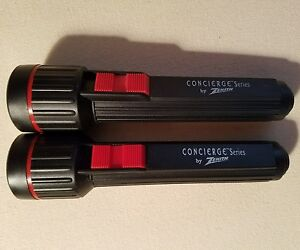 Two Zenith Television collectible flashlights. NEW