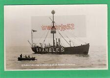 More details for shambles lightship portland rp pc unused seward  ab434