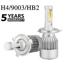 2pcs COB H4 C6 12000LM 72W LED Car Headlight Kit Hi/Lo Turbo Light Bulbs 6000K