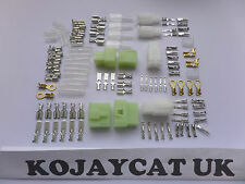 12 VOLT MOTORCYCLE WIRING HARNESS AUTOMOTIVE LOOM CABLE CONNECTOR REPAIR KIT 6