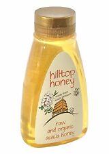 Hilltop brut et biologique acacia miel 370g - Bouteille Squeezy