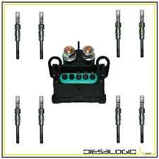 1994-02 CHEVY GMC 6.5L GLOW PLUG SET  AND GLOW PLUG CONTROLLER 6.5 GLOW PLUG NEW