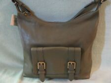 Fossil Cleo Olive Soft Leather 1 Strap Shoulder/Hobo Bag Really Nice NWT $198