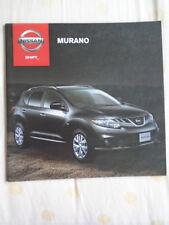 Nissan Murano range brochure Oct 2012 South African market