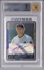 2005 Topps Chrome Update Autograph Micah Owings Rookie Graded BGS 9 (10 Auto)