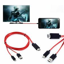 CAVO ADATTATORE MHL DA MICRO USB HDMI PER SAMSUNG GALAXY S3 S4 S5 NOTE 2 3 HDTV