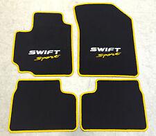Autoteppiche Fußmatten für Suzuki Swift/Sport ab 2011' 2farbig weiss-gelb Neu