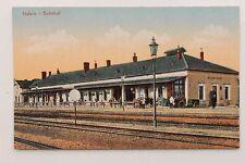 26866 AK Bahnhof Hullein Hulin Kres Kroměříž um 1914