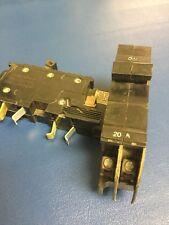 "20 Amp Xo Breaker 2 Pole Square D Cutler Hammer 1"" Thin 20A - Guaranteed Nice"