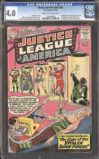 Brave and the Bold #30 CGC 4.0 DC 1960 3rd Justice League! Superman! D6 1 115 cm