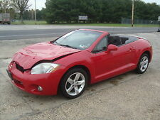 2007 Mitsubishi Eclipse Spyder GS Convertible Salvage Rebuildable Repairab