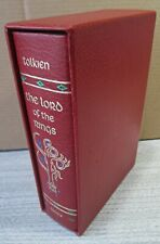 TOLKIEN,THE LORD OF THE RINGS,1966, COLLECTOR'S EDITION, 1 VOL 6 BOOKS. NR FINE