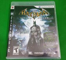 Batman Arkham Asylum PlayStation 3 PS3 Joker DC Comics Video Game Playstation