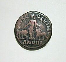 MOESIA SUPERIOR, VIMINACIUM. AE 29, PHILIP I, 244-249 AD. YEAR ANVIII, 20.87 G.