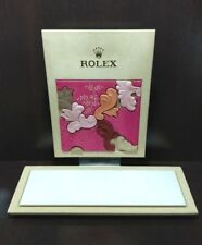 ROLEX WINDOW DISPLAY STORE 54.5X34CM - STAND 60X24.5CM #16 - OFFERS WELCOME
