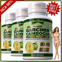 Weight Loss Garcinia Cambogia Pills 95% HCA Diet Slimming 3000mg Daily Capsules