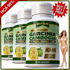 Weight Loss Garcinia Cambogia Pills 95% HCA Diet Slimming 3000mg Daily Capsules