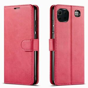 For LG K92 5G Phone Case, Premium Leather Wallet Cover+ Tempered Glass Protector