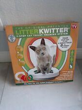 New listing Litter Kwitter Cat Toilet Training System New Award-Winning Only 8-Weeks