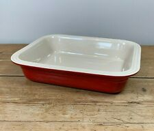 Le Cruset Red Baking Dish