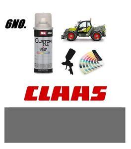 Claas Telehandler Tractor Grey Paint 6no. Endurance Enamel Paint 400ml Aerosols