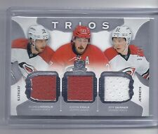 15-16 2015-16 THE CUP LINDHOLM FAULK SKINNER TRIOS JERSEY /40 HURRICANES
