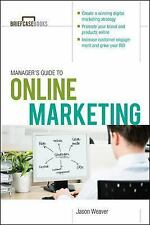 Manager's Guide to Online Marketing (Brief Case Books)-ExLibrary