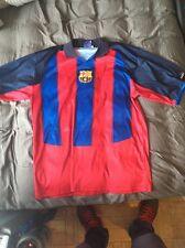 Vintage Henrik Larsson FC Barcelona Soccer Jersey XL