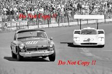 Phil Hill & Mike Spence Chaparral 2F Nurburgring 1000 Km 1967 Photograph 1