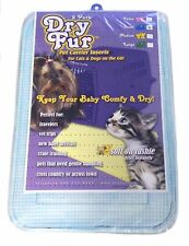 Pet Carrier Insert Travel Pads 2-PK BLUE SMALL - Cosmetic damage packaging ONLY